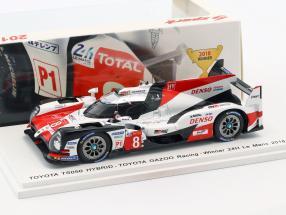 Toyota TS050 Hybrid #8 Winner 24h LeMans 2018 Buemi, Nakajima, Alonso 1:43 Spark