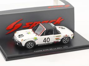 Porsche 914/6 GT #40 24h LeMans 1970 Ballot-Lena, Chasseuil 1:43 Spark
