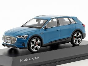 Audi e-tron year 2018 antigua blue 1:43 Spark
