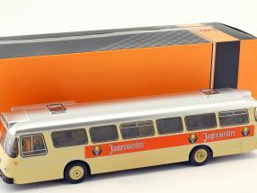 Büssing Senator 12D bus Jägermeister cream / orange 1:43 Ixo