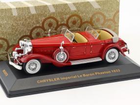 Chrysler Imperial Le Baron Phaeton Baujahr 1933 rot 1:43 Ixo