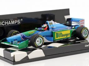 Johnny Herbert Benetton B194 #6 Australien GP formula 1 1994 1:43 Minichamps