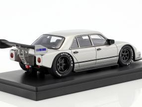 Set Jahrbuch 2018 mit Jahresmodell Sauber-Mercedes W140 Baujahr 1990 silber