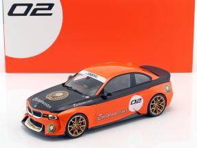 BMW 2002 Hommage Collection Turbomeister #2 orange / black 1:18 Norev