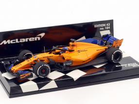 Fernando Alonso McLaren MCL33 #14 formula 1 2018 1:43 Minichamps