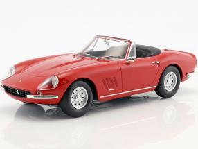 Ferrari 275 GTS/4 NART Spyder with alloy rims year 1967 red 1:18 KK-Scale