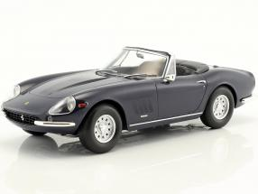 Ferrari 275 GTS/4 NART Spyder with alloy rims year 1967 dark blue 1:18 KK-Scale