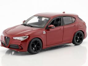 Alfa Romeo Stelvio red 1:24 Bburago