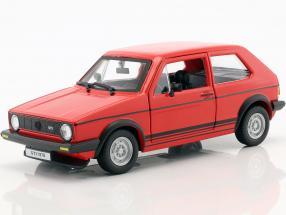 Volkswagen VW Golf Mk1 GTI year 1979 red 1:24 Bburago