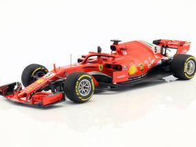 Sebastian Vettel Ferrari SF71H #5 Winner Australian GP formula 1 2018 1:18 BBR