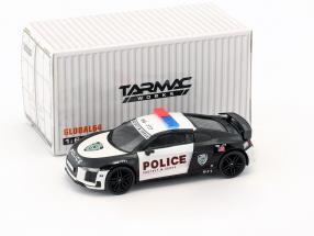 Audi R8 V10 Plus Police Protect and Serve 1:64 Tarmac Works