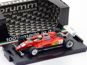 Mario Andretti Ferrari 126 C2 Turbo Formel 1 1981 1:43