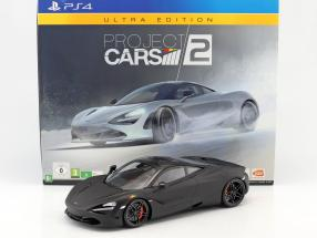 McLaren 720S 1:12 TrueScale Ultra Edition Project Cars 2 including PS4 game and additional equipment