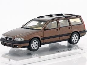 Volvo V70 XC year 1997 sandstone brown metallic 1:43 DNA Collectibles