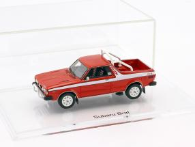 Subaru Brat Pick-Up year 1978 brilliant red 1:43 DNA Collectibles
