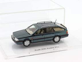 Audi 200 Avant 20V Quattro year 1991 lago blue metallic 1:43 DNA Collectibles