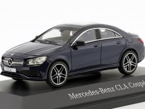 Mercedes-Benz CLA Coupe (C117) cavansite blue 1:43 Kyosho