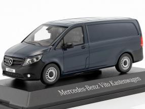 Mercedes-Benz Vito panel Van navy blue 1:43 Norev MB