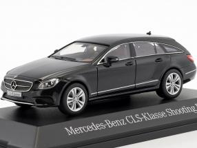 Mercedes-Benz CLS-Class Shooting Brake (X218) obsidian black 1:43 Norev