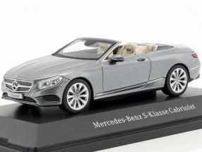 Mercedes-Benz S-Class Cabriolet (A217) selenite Grey 1:43 Kyosho