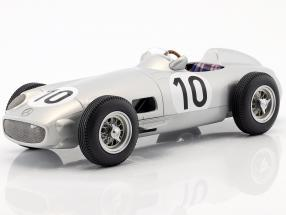 J.M. Fangio Mercedes-Benz W196 #10 2nd British GP World Champion formula 1 1955 1:18 iScale