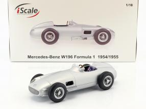 Mercedes-Benz W196 Plain Body Edition Formel 1 1954/1955 1:18 iScale