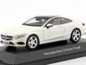 Mercedes-Benz S-Class coupe diamond white metallic 1:43 Kyosho