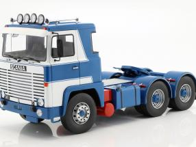 Scania LBT 141 Tractor year 1976 white / blue 1:18 Road Kings