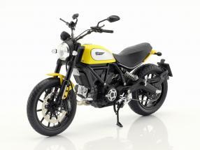Ducati Scrambler Classic 803cc Icon '62 yellow / black 1:12 TrueScale
