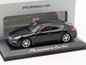 Porsche Panamera Turbo black 1:43 Minichamps
