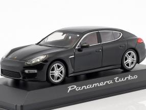 Porsche Panamera Turbo schwarz 1:43 Minichamps