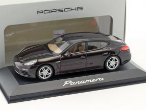 Porsche Panamera S Gen. II year 2014 mahogany 1:43 Minichamps