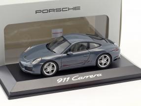 Porsche 911 (991/II) Carrera Coupe Baujahr 2016 matt grau 1:43 Herpa