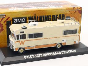 Dale's Winnebago Chieftain Construction year 1973 TV series The Walking Dead (since 2010) beige 1:43 Greenlight