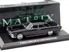 Lincoln Continental year 1965 Movie The Matrix (1999) black 1:43 Greenlight