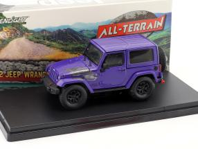 Jeep Wrangler All Terrain Winter Edition 2017 lila 1:43 Greenlight