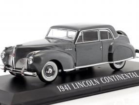Lincoln Continental year 1941 grey metallic 1:43 Greenlight