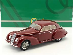 Alfa Romeo 2500S Berlinetta Touring Baujahr 1939 dunkel rot 1:18 Cult Scale