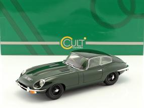 Jaguar E-Type Coupe Series II year 1968 dark green 1:18 Cult Scale