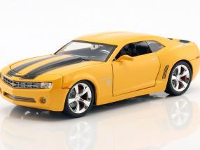 Chevrolet Camaro Bumblebee Construction year 2006 Movie Transformers (2007) orange metallic 1:24 Jada Toys