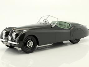 Jaguar XK 120 OTS Baujahr 1948-1954 dunkelgrün 1:12 Matrix