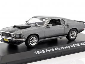 Ford Mustang Boss 429 year 1969 Movie John Wick (2014) Gray / black 1:43 Greenlight