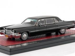 Cadillac Fleetwood Series 75 Baujahr 1970 schwarz 1:43 Matrix