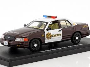 Ford Crown Victoria Police Interceptor 2005 TV series Storybrooke - Once upon a time 1:43 Greenlight