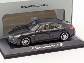 Porsche Panamera 4S Gen II. year 2014 carboxylic grey 1:43 Minichamps