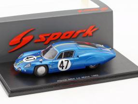 Alpine M64 #47 24h LeMans 1965 Vinatier, de Lageneste 1:43 Spark
