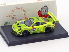 Porsche 911 (991) GT3 R #911 Manthey Racing Pole Position 24h Nürburgring 2018 1:64 Spark
