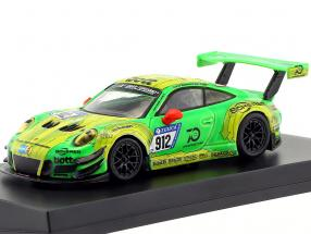 Porsche 911 (991) GT3 R #912 Manthey Racing Winner 24h Nürburgring 2018 1:64 Spark