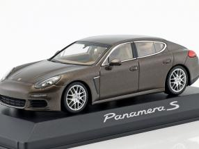 Porsche Panamera S Gen. II year 2014 brown metallic 1:43 Minichamps