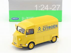 Citroen HY Citroen Service year 1962 yellow / blue 1:24 Welly